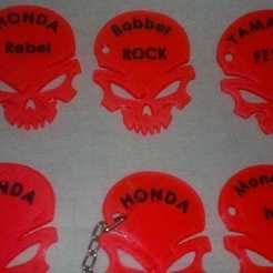 Download 3D printer designs honda, yamaha, world key ring and decorative accessory honda key chain, JoseLuisMenon