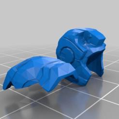 Télécharger fichier STL gratuit lego iron man helmet (remix) • Modèle pour impression 3D, boninj