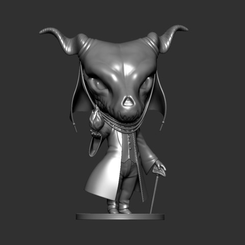 Elias05.jpg Download STL file Elias Ainsworth Chibi figurine • 3D print design, Kownus