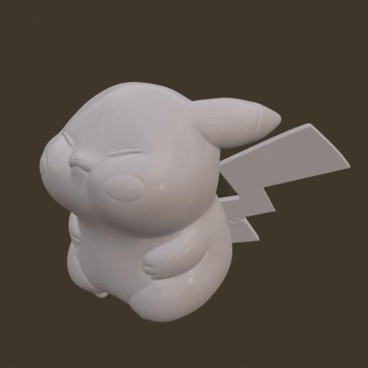 screenshot010.png Download STL file Grumpy_pikachu • 3D print model, Kownus