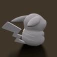 screenshot013.png Download STL file Grumpy_pikachu • 3D print model, Kownus