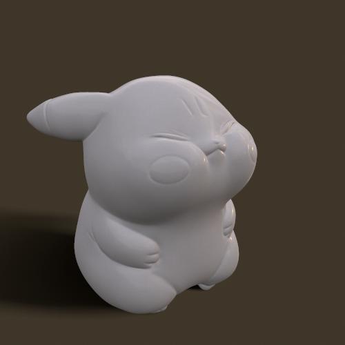 screenshot007.png Download STL file Grumpy_pikachu • 3D print model, Kownus