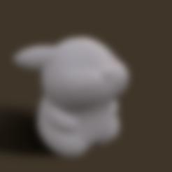 Grumpy_pikachu.stl Download STL file Grumpy_pikachu • 3D print model, Kownus
