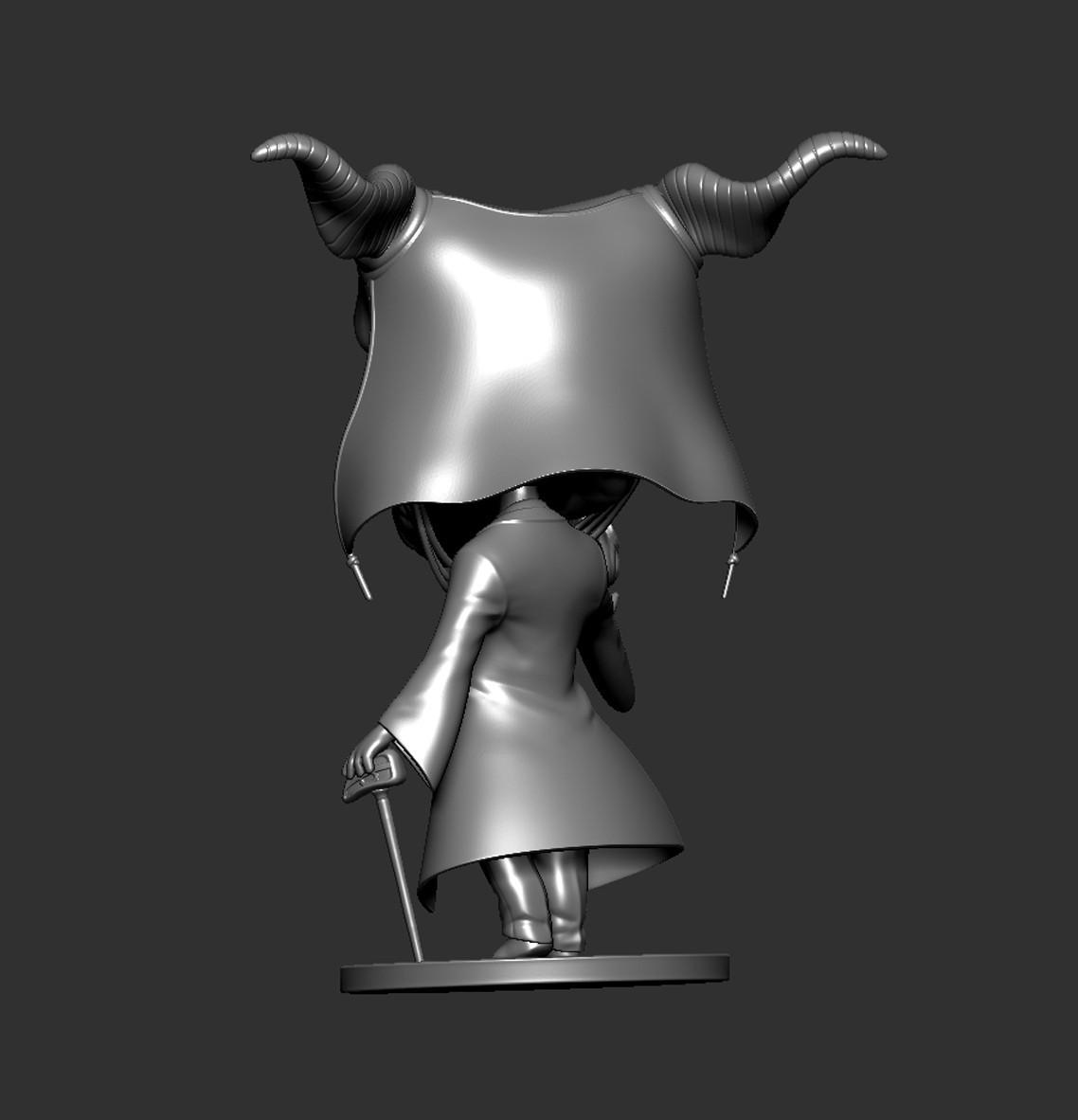 Elias08.jpg Download STL file Elias Ainsworth Chibi figurine • 3D print design, Kownus