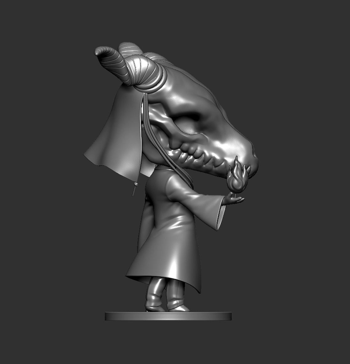 Elias03.jpg Download STL file Elias Ainsworth Chibi figurine • 3D print design, Kownus