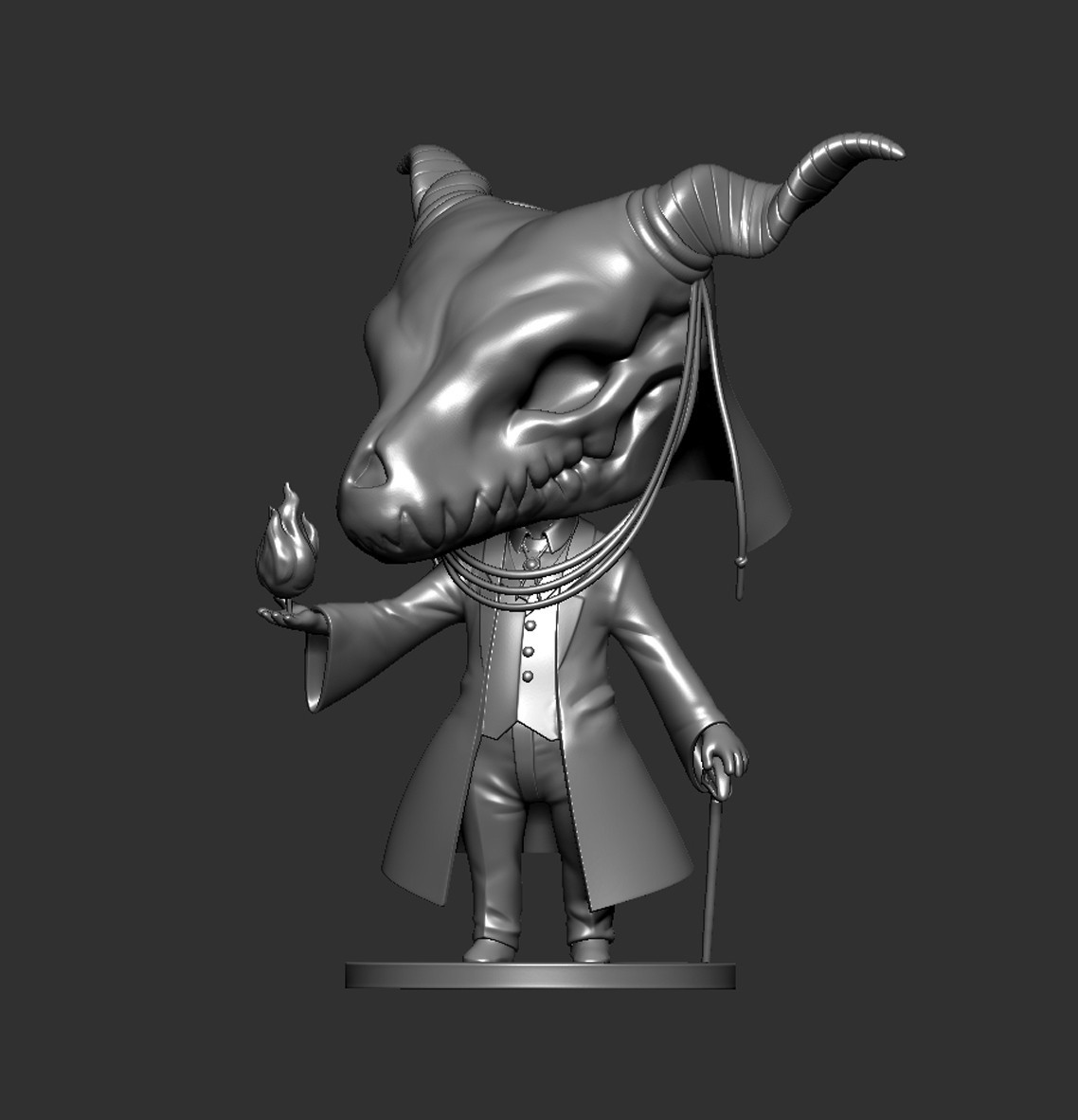 Elias06.jpg Download STL file Elias Ainsworth Chibi figurine • 3D print design, Kownus