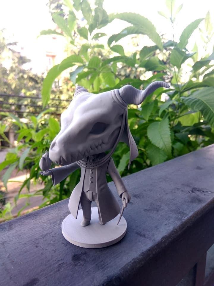 40202703_1312408605562203_1828916504792399872_n.jpg Download STL file Elias Ainsworth Chibi figurine • 3D print design, Kownus