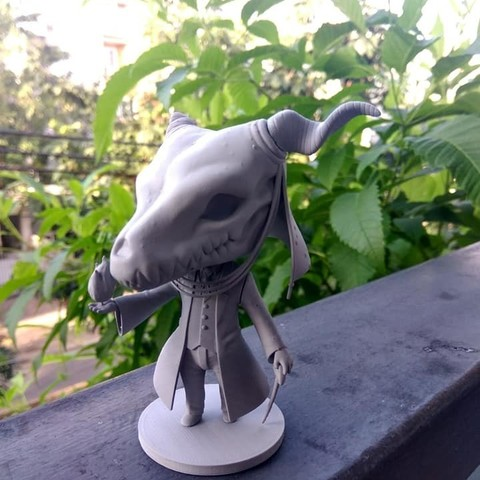 stl file Elias Ainsworth Chibi figurine, Kownus