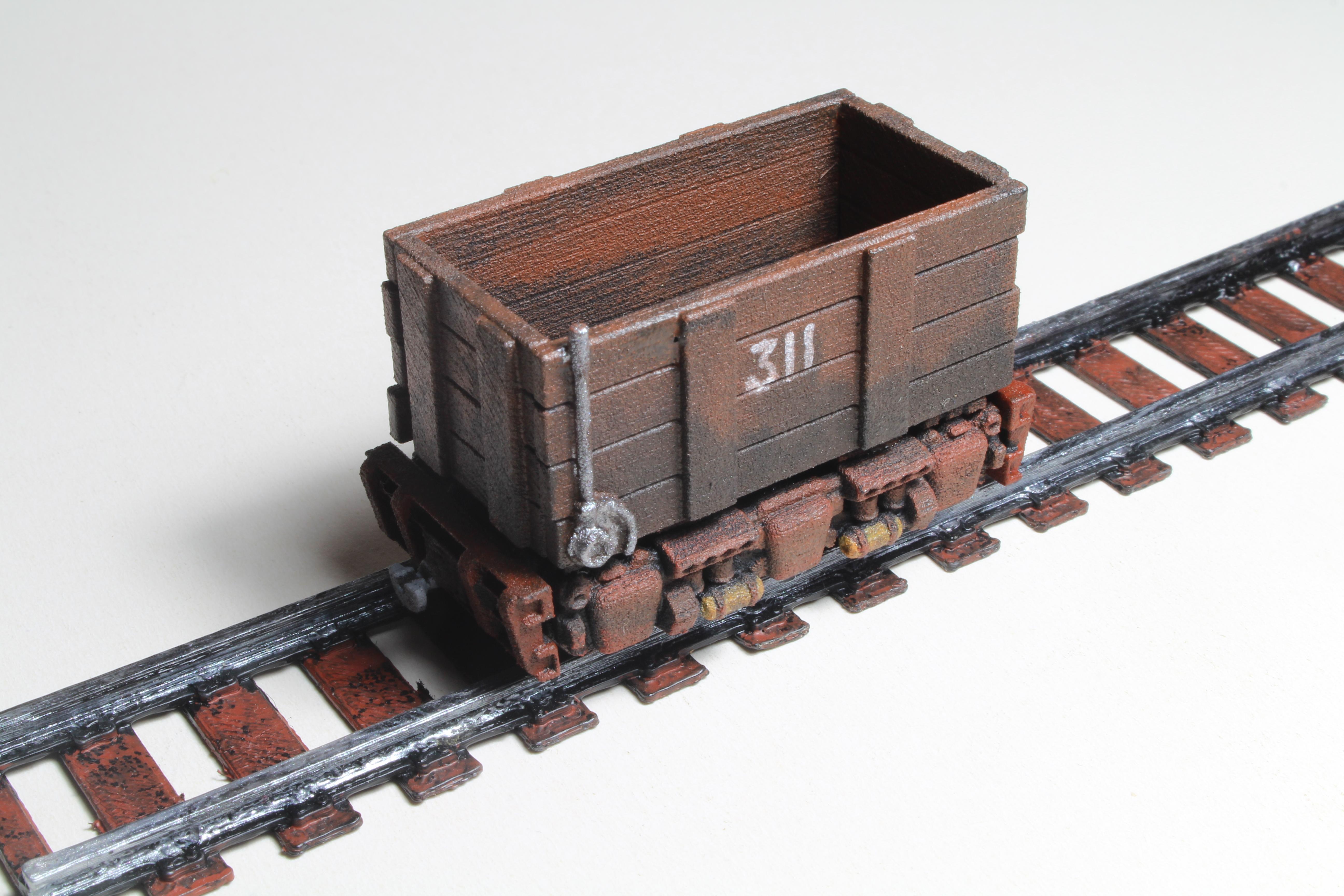 Narrow gauge rolling stocktrainz forged