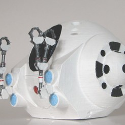 Download free 3D printing designs EVA Pod from 2001: A Space Odyssey, BouncyMonkey
