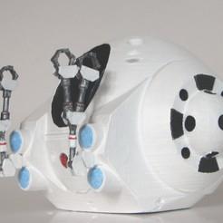 Free STL file EVA Pod from 2001: A Space Odyssey, BouncyMonkey