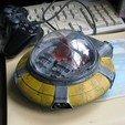 Descargar Modelos 3D para imprimir gratis Flying Saucer - Al igual que los verdaderos, BouncyMonkey