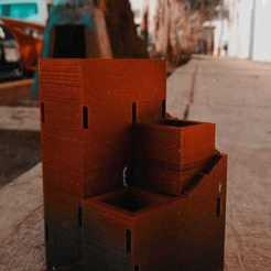 Impresiones 3D Maceta Laberinto, Nandoars