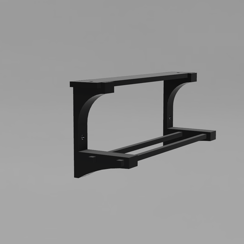 Cuarto de Baño v.png Download free STL file Towel Rack • 3D print model, Zambrana95