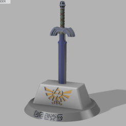 Free 3D printer files Master Sword (Zelda), Zambrana95