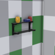 Cuarto de Baño v6.png Download free STL file Towel Rack • 3D print model, Zambrana95