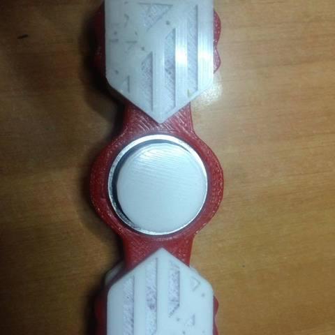 Download STL file Spinner Atletico Madrid • 3D printable template, Creative3DBadajoz