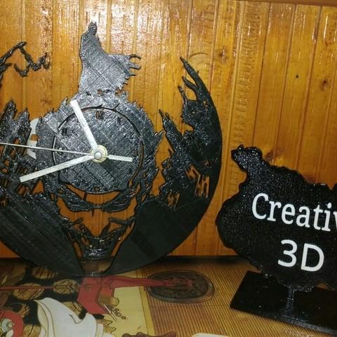 Download STL file Batman Watch • 3D print template, Creative3DBadajoz