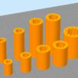Modelos 3D para imprimir gratis Cojinete lineal personalizable - LM8UU, LM8LUU, LM12UU, LM12LUU, LM16UU, ... IGUS como, MightyNozzle