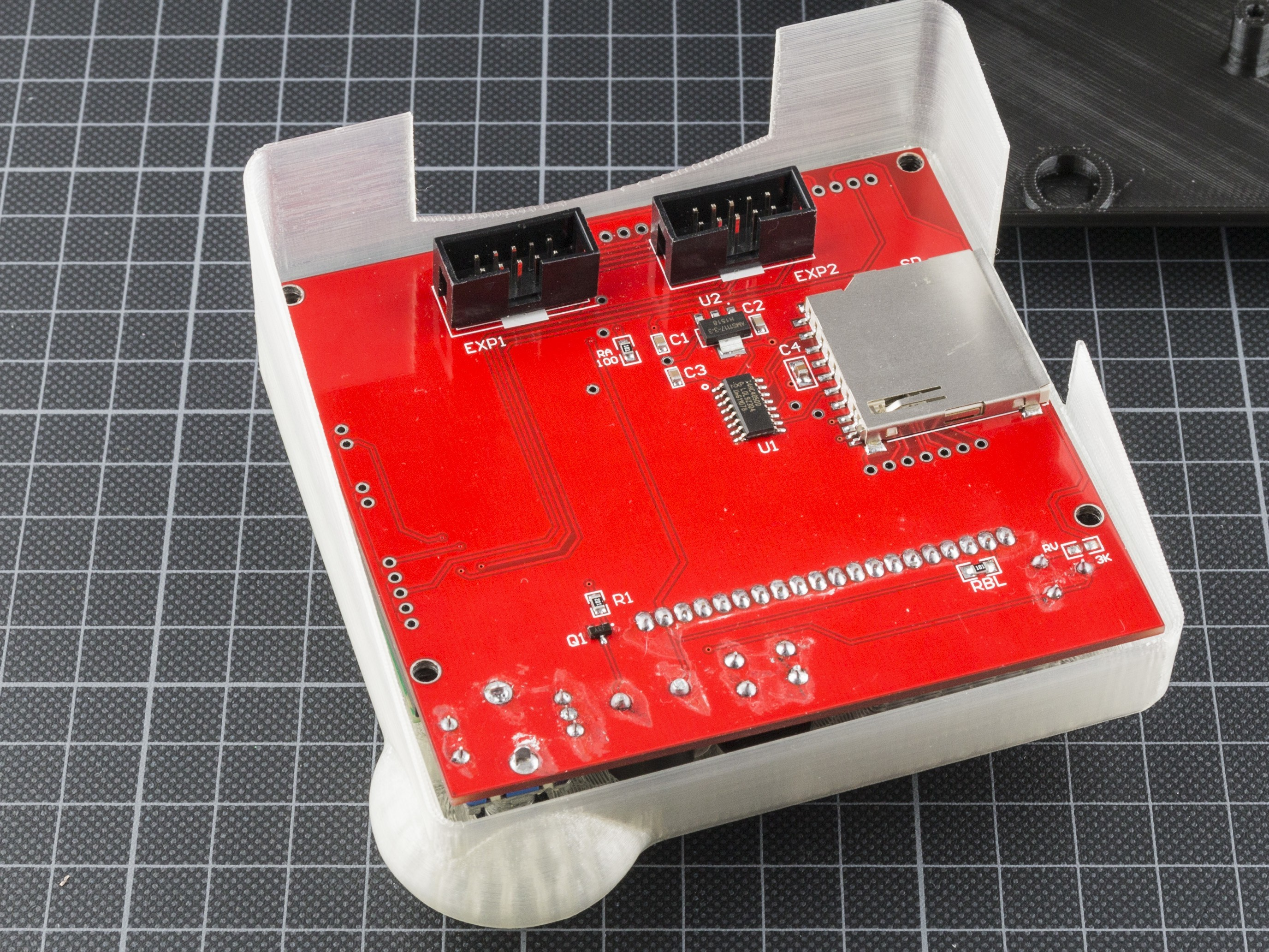 step4_IMG_1733.jpg Download free STL file RepRapDiscount Full Graphic Smart Controller Case • 3D printer template, MightyNozzle