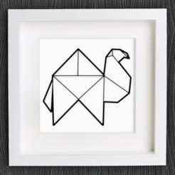 Descargar archivo 3D gratis Camello de Origami personalizable, MightyNozzle