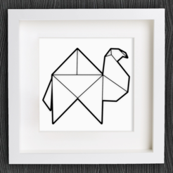 Capture d'écran 2017-12-28 à 09.58.52.png Download free STL file Customizable Origami Camel • Model to 3D print, MightyNozzle