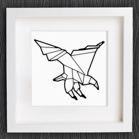 Descargar archivos 3D gratis Origami Eagle personalizable, MightyNozzle