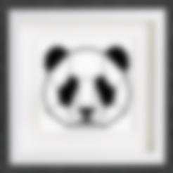 customized_origami_panda_head.stl Download free STL file Customizable Origami Panda Head • 3D printable design, MightyNozzle