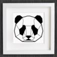 Capture d'écran 2017-11-13 à 21.55.34.png Download free STL file Customizable Origami Panda Head • 3D printable design, MightyNozzle