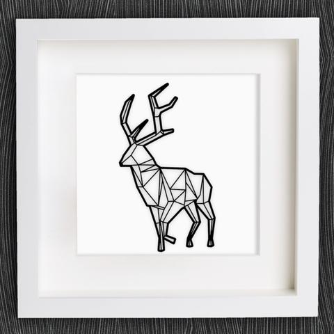 Descargar Modelos 3D para imprimir gratis Personalizable Origami Deer No. 2, MightyNozzle