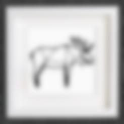 Descargar modelo 3D gratis Personalizable Origami Moose, MightyNozzle