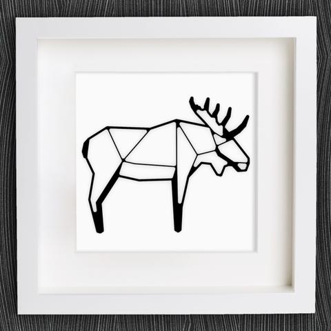 Free stl file Customizable Origami Moose ・ Cults