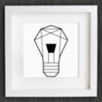 Capture d'écran 2018-01-02 à 12.21.17.png Download free STL file Customizable Origami Light Bulb • 3D printing design, MightyNozzle