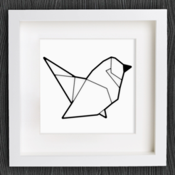 Download free STL file Customizable Origami Bird, MightyNozzle