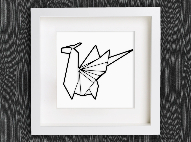 Capture d'écran 2018-01-29 à 14.44.36.png Download free STL file Customizable Origami Dragon • 3D print design, MightyNozzle