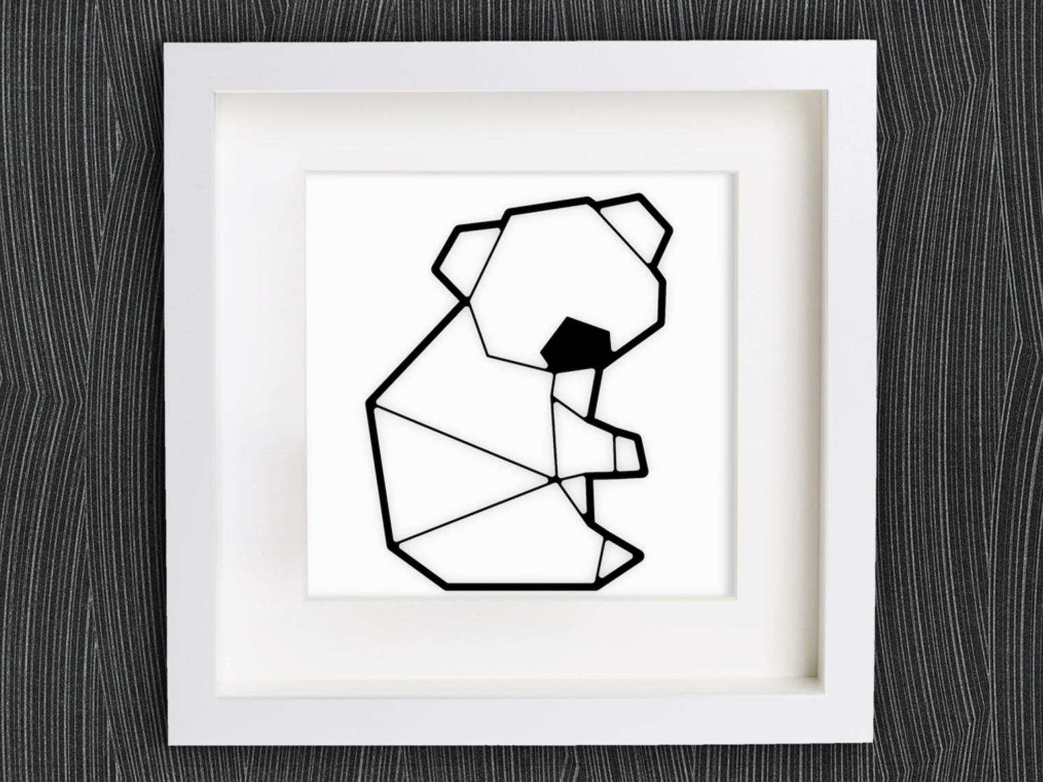Modelo STL Personalizable Origami Cute Koala gratis ・ Cults
