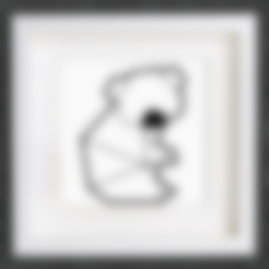 Free STL files Customizable Origami Cute Koala, MightyNozzle