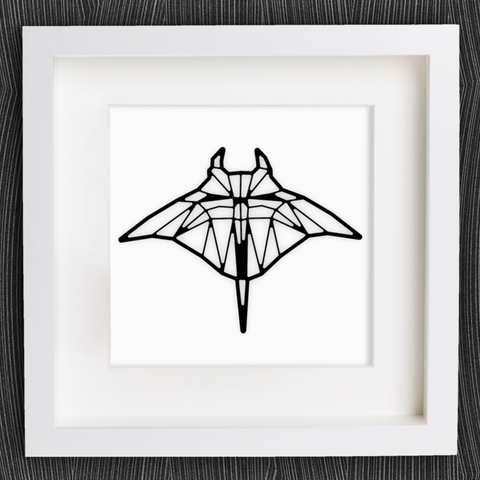 STL gratis Manta de Origami personalizable, MightyNozzle