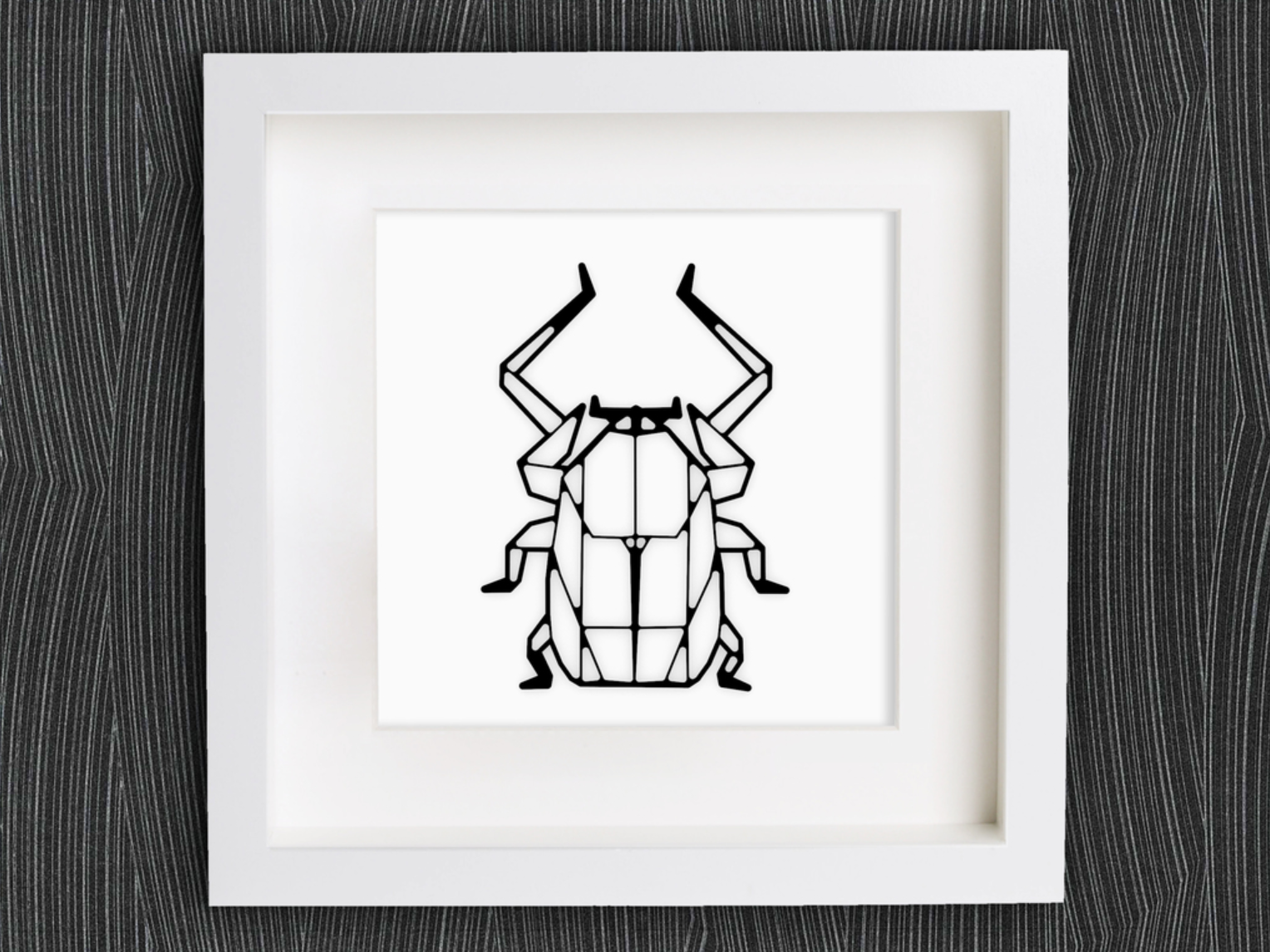 Capture d'écran 2018-01-15 à 14.06.15.png Download free STL file Customizable Origami Scarab • 3D print template, MightyNozzle