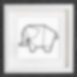 Descargar archivo 3D gratis Personalizable Origami Elephant No. 2, MightyNozzle