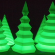 Download free 3D printing files Customizable Christmas Tree, MightyNozzle