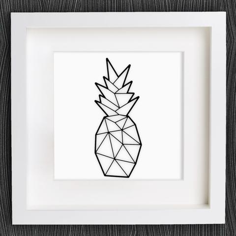 Imprimir en 3D gratis Piña de Origami personalizable, MightyNozzle