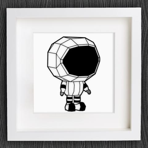 Modelos 3D gratis Pequeño astronauta personalizable, MightyNozzle