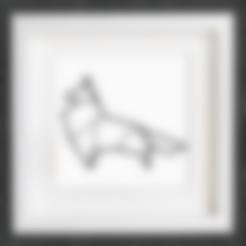 Download free STL file Customizable Origami Fox, MightyNozzle