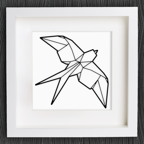 Free Stl Files Customizable Origami Swallow MightyNozzle
