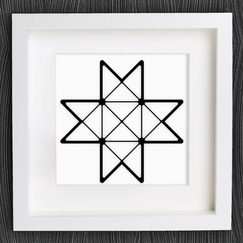 Archivos STL gratis Personalizable Origami Froebel Star, MightyNozzle