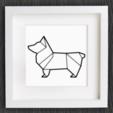 Capture d'écran 2017-11-24 à 14.43.41.png Download free STL file Customizable Origami Corgi Dog • 3D printer object, MightyNozzle