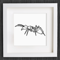 Free STL file Customizable Origami Ant, MightyNozzle