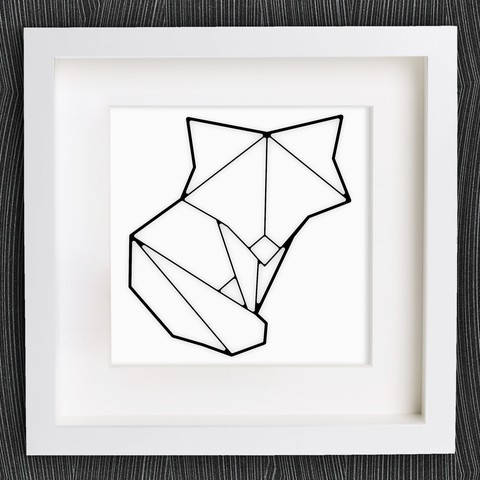 Descargar archivo 3D gratis Origami Cute Fox personalizable, MightyNozzle