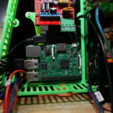 Download free STL files Modular Anet A8 RAMPS 1.4 + Raspberry Pi 2/3 Case, MightyNozzle